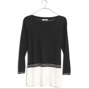 Madewell Color Block Pullover